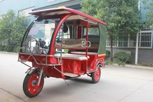 Electric tricyle for passenger using