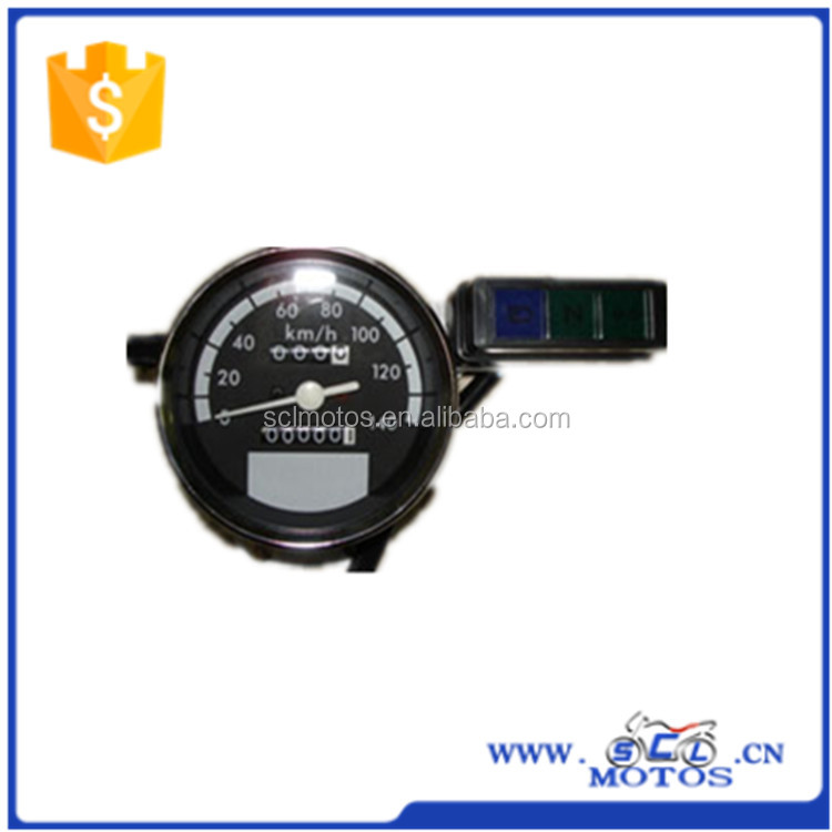 SCL-2012110408 GY150 motorcycle speedometer with top quality