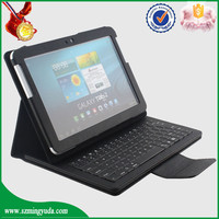 China Factory flip 10 inch tablet sleeve bluetooth keyboard for samsung P7510