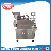 glass bottle ampoule filling sealing machine with 2 / 4 / 6 filling head neddles