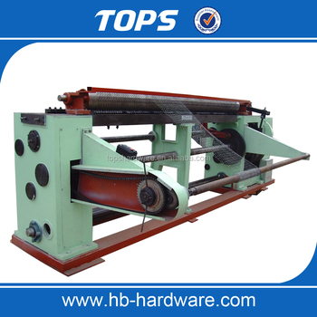 best quality of hexagonal wire netting machine