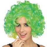 St. Patrick's Day 100th lower price wig halloween green wigs