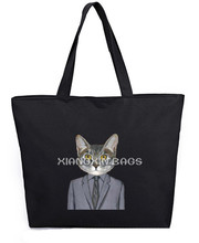 Paper Hand Bag Latest Fashion Hand Bag Cat Tote Bag