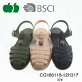Good selling ladies jelly plastic sandals