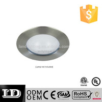 factpry price 4 inch line voltage recessed down light low voltage trim