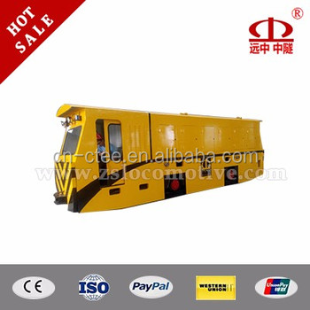 China supply New 35T diesel railway locomotive for subway tunnelling engineering