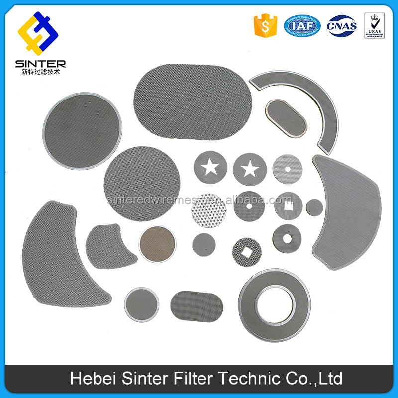 High quality sintered stainless steel filter leaf