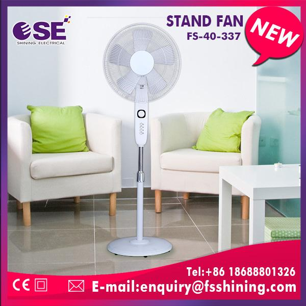 Hot selling indoor spray fan plastic mist stand fan line grill with rim