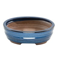 Home Decor Glazed Hand Painted Terracotta Bonsai Pot