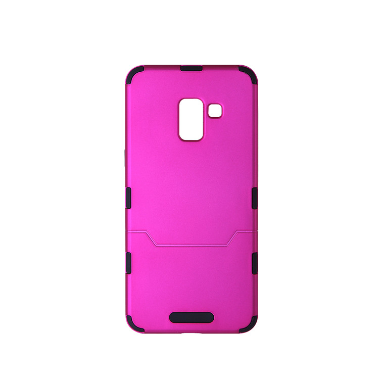 2 in 1 hybrid combo cell phone case cover for samsung a8 2018