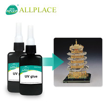 Factory Non Toxic Adhesives Epoxy Resin Crystal Clear UV Glue