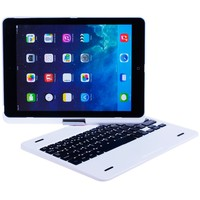 BT Keyboard with protect cover, 360 swivel for iPad Air