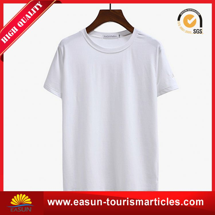 Wholesale sun wear t-shirt new man t-shirt soft reversible t-shirt