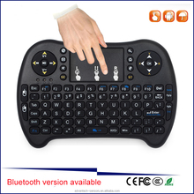 Bluetooth Mini 2.4GHz wireless Keyboard gaming keyboard for PC, set top box, Android TV Box, HTPC, IPTV bluetooth keyboard tv