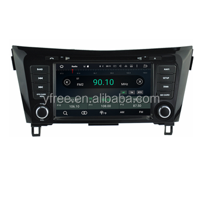 for Nissan ROGUE Android car dvd players with GPS auto 2 din radio audio double din central multimedia stereo