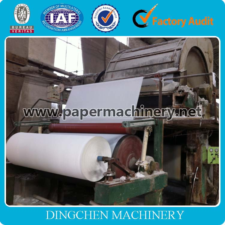 Manufacturer Zhengzhou Dingchen 1880mm Toilet Paper Towel /Kitchen Paper Making Machine