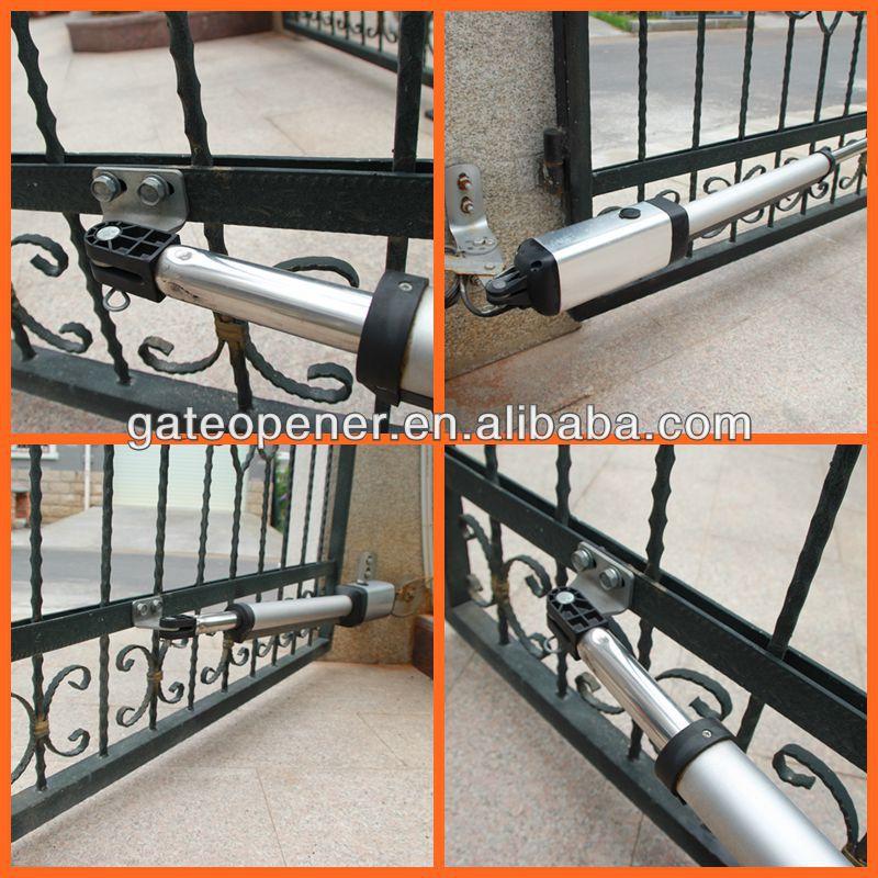 Ce Emc 24vdc Motor Automatic Dual Arm Swing Gate Motor