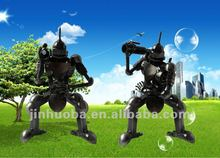 2012 Latest metal robot model home decoration