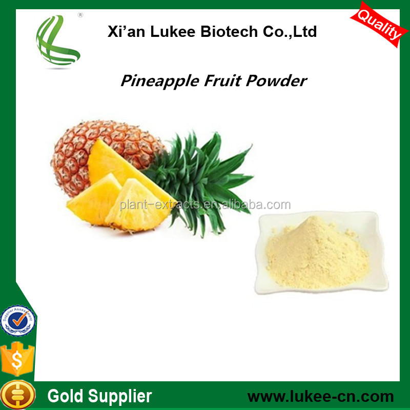 Raw Material Pineapple Juice Powder for Food and Beverage Ingredient