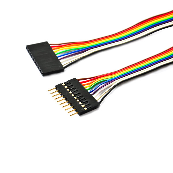 10 Pin Idc Connector Flat Ribbon Cable