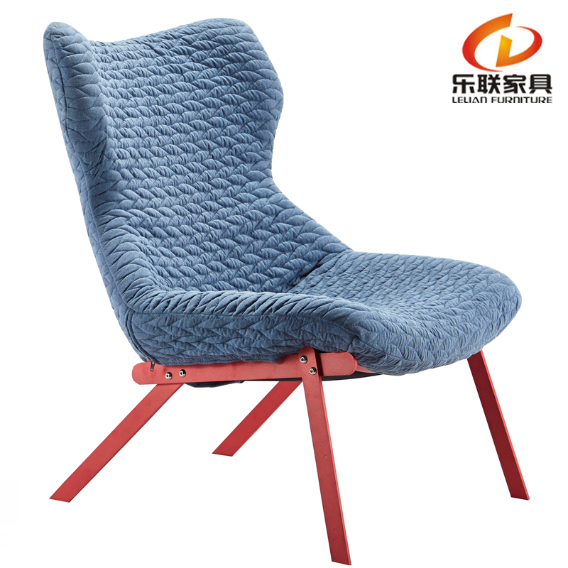 B328-1 Home furniture fabric leisure chair high back overstuffed lounge living room chairs