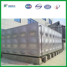 Durable bolts connection water tank made in China/Pressed galvanized steel water tank