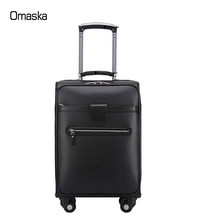 New material durable business travel luggage for men