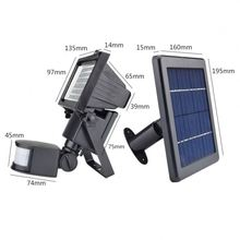 NEW Products 2-Pack Outdoor Solar Power Flood Security Camera Light <strong>w</strong>/ 60 LED