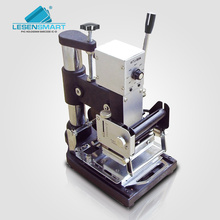 Manual Hot Foil Stamping Machine Leather Logo Embossing Machine