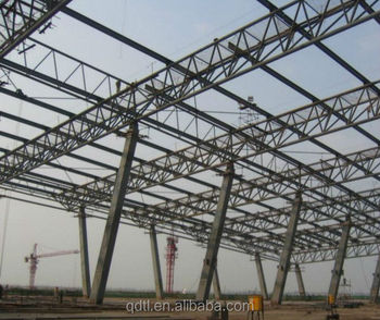 Low cost professional drawing construction steel structure warehouse