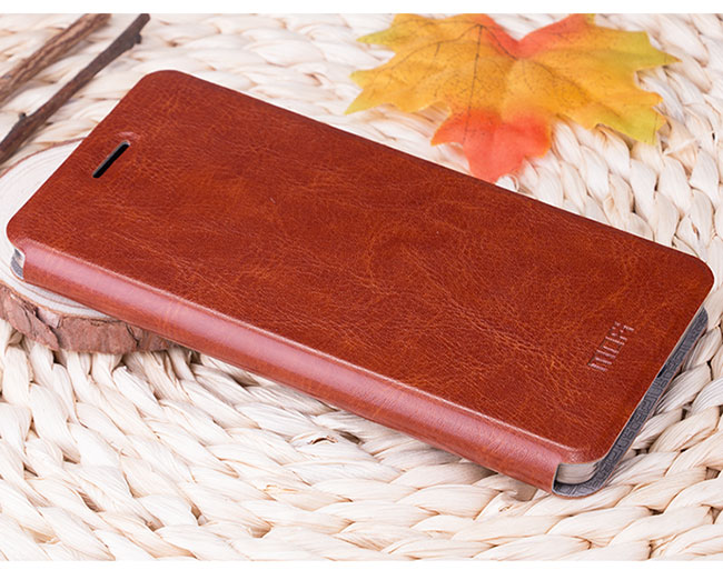 Original MOFI Luxury Rui Series Slim PU Leather For Xiaomi Mi 4C Stand Flip Leather Cover Phone Bag For XiaoMi 4C TB-0123