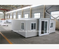 luxury prefabricated structure modular movable expandable container house