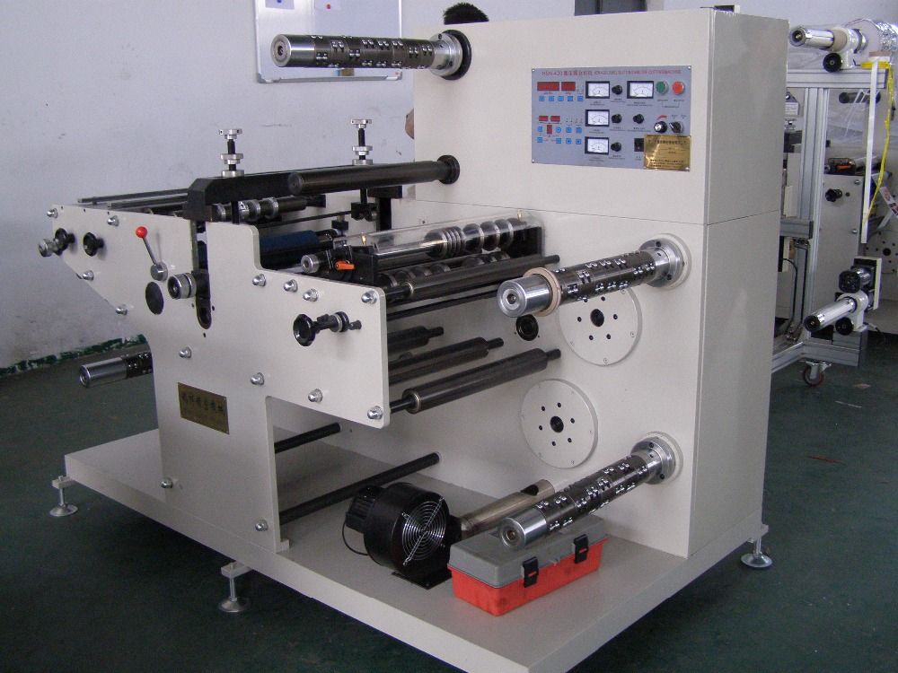 Hexin Brand Label PP Ect Rotary Die Cutting Machine