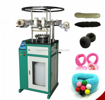 Hairband knitting machine