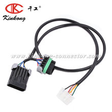 Automotive landrover pedal wiring loom cable assembly