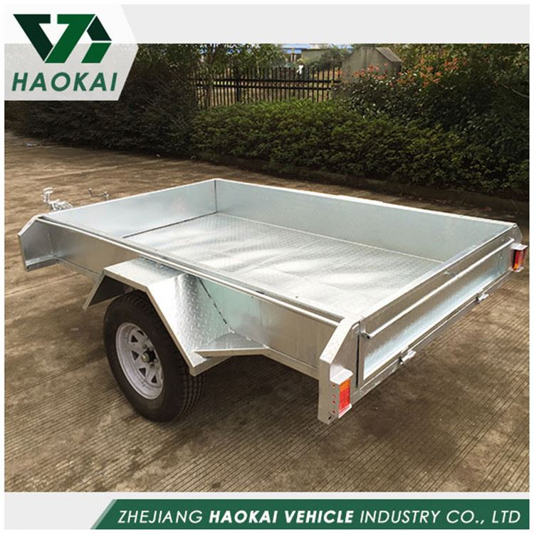 Factory sale attractive style small box trailers for sale for promotion