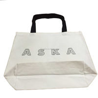 Customized printing12oz canvas tote bag bleached cotton bag