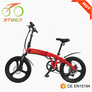 green power city foldable electric bicycle e bike with mag wheels