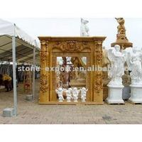 Marble Fireplace and Stone Carving (European and USA Style)