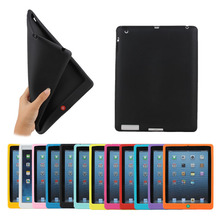 Made in china cute soft silicone case for ipad 2/3/4