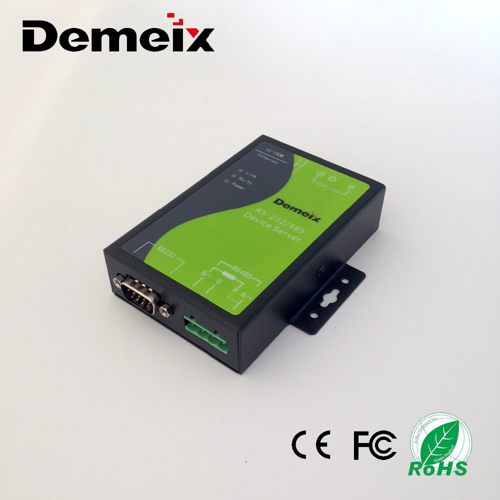Manufacturer of Hot sales RS232 RS485 to RJ45 serial to Ethernet converter Module Serial Device Server for industrial usage