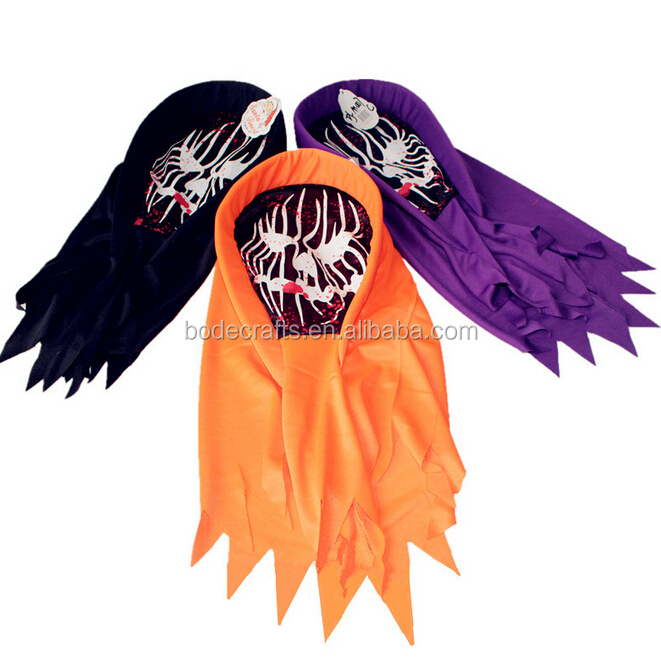 BD-FJ007 Wholesales halloween decorations party ghost scary mask full face maks 3 colors can choose