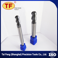 Wholesale Products 2 Flutes Precision Corner Radius End Mills Cutting Tools For Cutting Copper