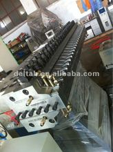Wood and plastic composite board extrusion line