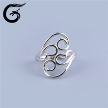 GuoLong ring blanks 925 silver fashion jewelry cz stone price