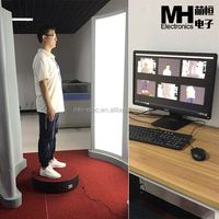 High Resolution 3D Body Scanner
