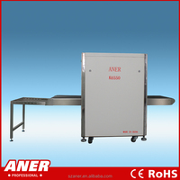 X ray container scanner with high penetration x ray container screening screening system