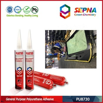 2017 new designed one part Polyurethane Sealant for bonding between side glass and frame of buses/cars