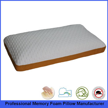 Ventilated 70X40 Queen Size Traditional Memory Foam Viscoelastic Pillow