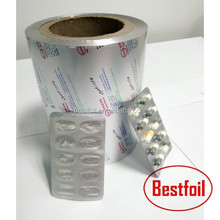 hot sale pharmaceutical aluminum foil blister pack alu alu foil